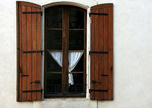 Day 33 – Shutters on Window